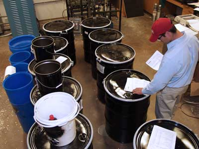 Clean Harbors routinely handles over two million drums per year.